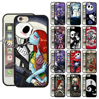 Jack&Sally Nightmare Before Christmas Cover fit for Iphone & Samsung Phone -