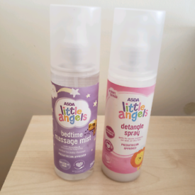 Little angle detangle hair spray and massage