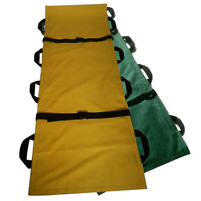 Foldable Medical Ambulance Emergency Portable Rescue Patient Handles Stretcher