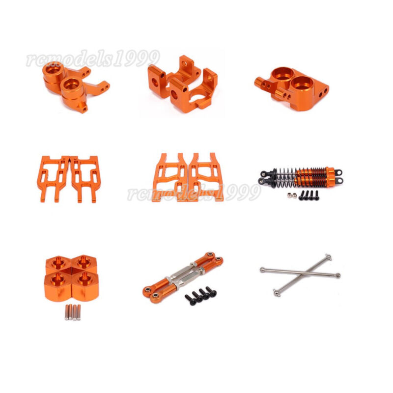 For RC 1:10 HPI BULLET 3.0 ST MT Truck Off-road Orange Alum DIY Upgraded Parts