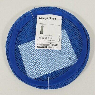 IKEA MINIFANGST Hanging Mesh Storage 3-tier Blue Brand New