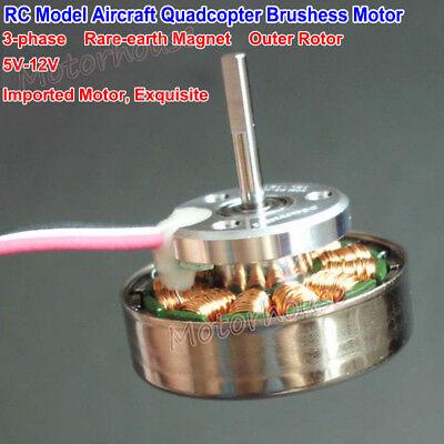 Namiki 5v-12v 3-phase Outer Rotor Brushless Dc Motor Diy Rc Car Model Quadcopter