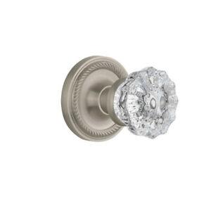 New Crystal Glass Passage Door Knob with Classic SKU: NSTA1154