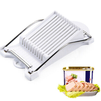 Bread Sausage Slicer Stainless Steel 10 Wires Meat Fruit Soft Cheese Cutter Soft Cheese Slicer