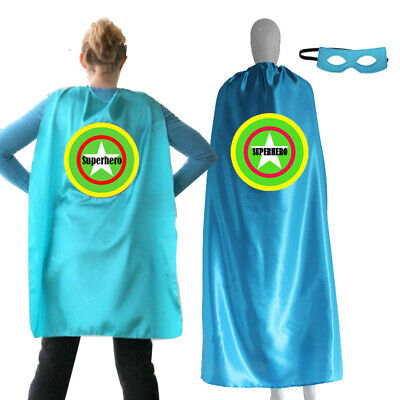 Adult Superhero Cape 55inch Personalized Name Hero Cape Costume Ships Fast - Personalized Superhero Cape