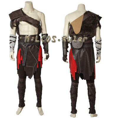 New Arrival God of War 4 Kratos Nordic Cosplay Costume Halloween Adult Full Set (Kratos God Of War Halloween Costume)