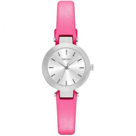 Dkny ny2299 stanhope mini pink watch! Unwanted gift!