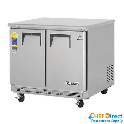 Everest Etbsf2 36 Double Door Undercounter Freezer