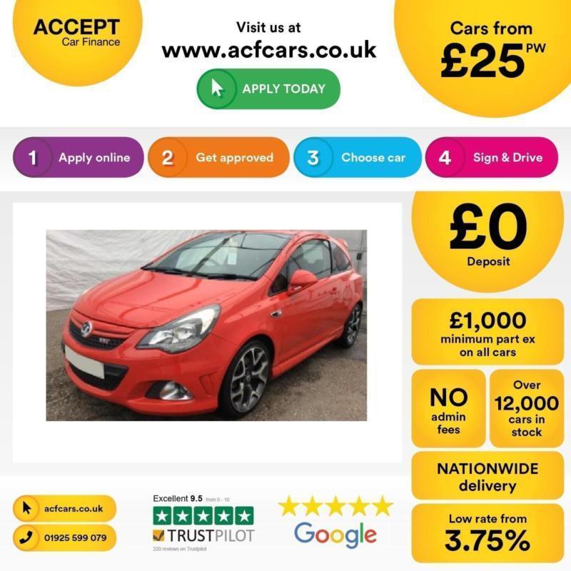 Vauxhall/Opel Corsa 1.6i 16v FROM £25 PER WEEK.