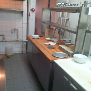 Used Restaurant equipment / Equipement de restaurant usagé