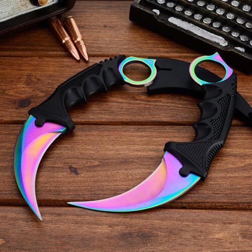 CSGO Knife Fade Karambit Cs Go Knive Tiger Tooth Doppler Counter Strike Sapphire