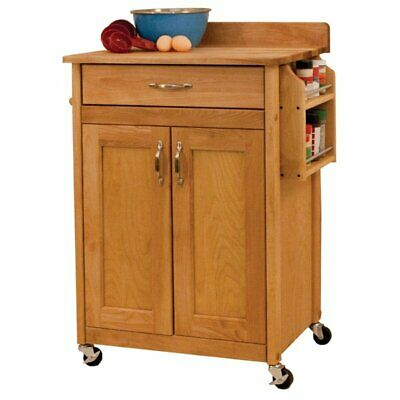 Catskill Craftsmen Kitchen Kitchen Cart - Catskill Craftsmen Kitchen Cart in Natural Birch