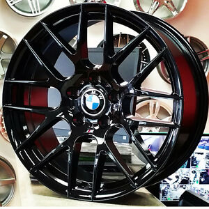 18 Inch Gloss Black M3GTS Rep Wheels for BMW 3 Series (4New)$750