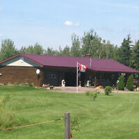 REDUCED AGAIN ! HANDCRAFTED LOG HOME GREAT HOBBY FARM !!