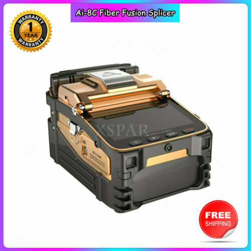 Signal Fire Ai-8C Optical Fiber Fusion Splicer Fiber Holder Quad-Core Chip CPU*
