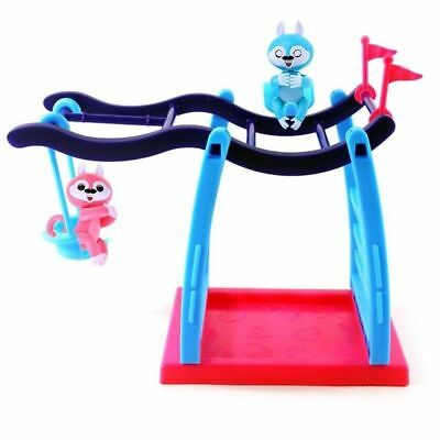 Monkey Jungle Gym Playset Baby Fingerlings Interactive Toy Set Climbing Stand