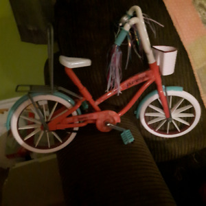 Bike and Bed for 18 inch doll