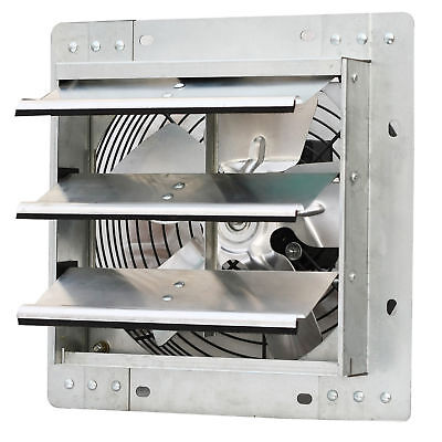 Iliving 10 Inch Variable Speed Shutter Exhaust Fan Wall-mounted