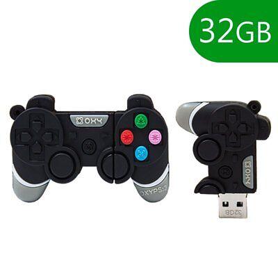MEMORIA USB PENDRIVE LAPIZ USB FLASH 32GB DIBUJOS TEMATICO 3D MANDO CONSOLA...