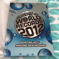 """""""Guinness World Records 2012"""" for sale"""