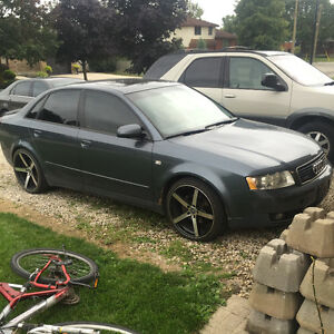 2002 Audi A4 Sedan 1.8T Quattro with upgrades Kitchener / Waterloo Kitchener Area image 1