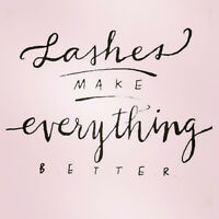 Eyelash Extension Sale $85 Full set!