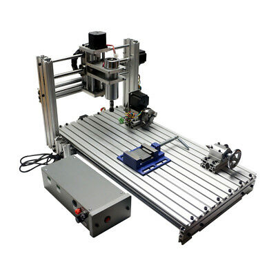 Diy Cnc Router 3060 Metal Mini Cnc Milling Machine 4 Axis For Pcb Wood Carving