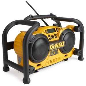 DeWalt radio and charger