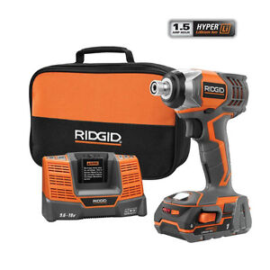NEW RIDGID X4 18V Lith-Ion 1/4 in Cordless Impact Driver Kit