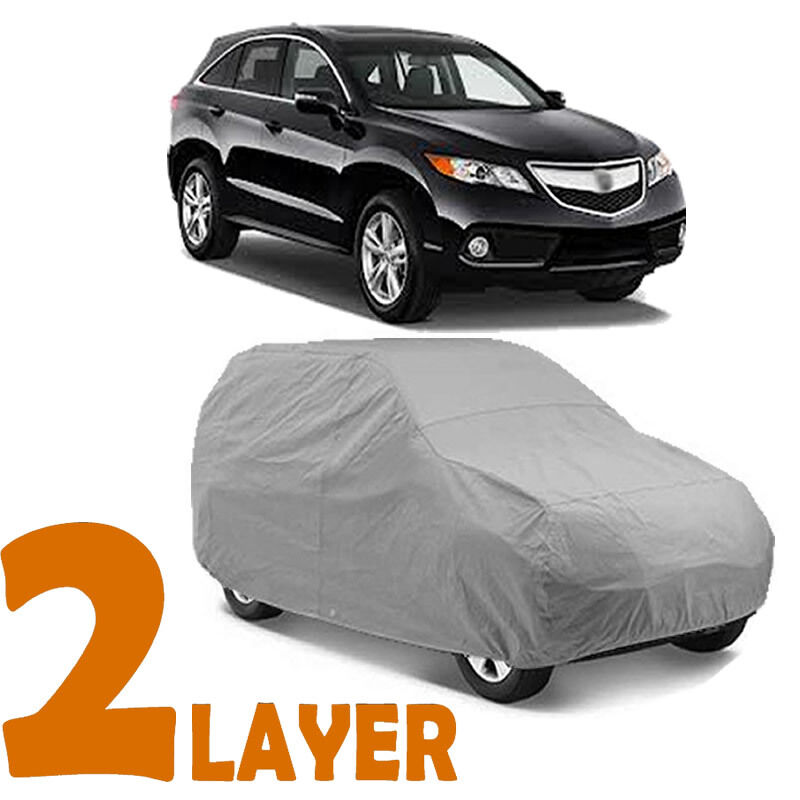 TRUE 2 LAYERS GRAY FITTED SUV COVER INDOOR/OUTDOOR WATER