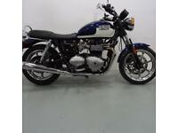 TRIUMPH BONNEVILLE 865. ONLY 576 MILES, 1 OWNER. STAFFORD MOTORCYCLES LIMITED