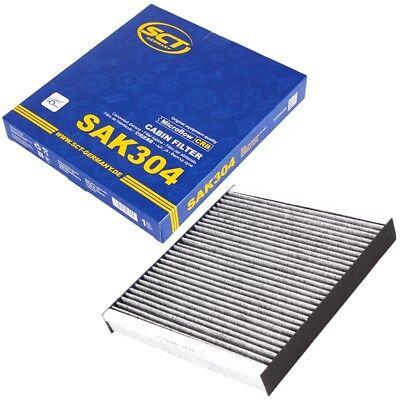 3 Heizung Pack (SCT Germany innenraumfilter Pollenfilter Aktivkohle AUDI A3 TT VW GOLF PASSAT)