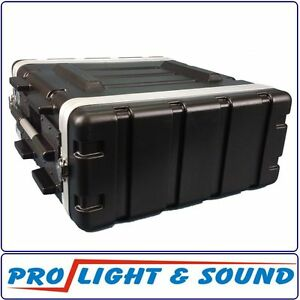 4RU Rackcase Roadcase Flightcase Road Flight Rack Case - FAST SHIP FROM SYDNEY
