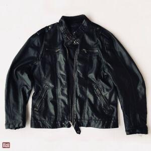 Men's Urban Behaviour leather jacket size XXL
