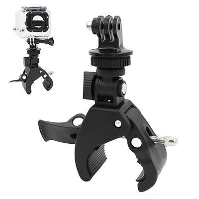 Best Handlebar Clamp Roll Bar Mount+Tripod Adapter For Go pro Hero 1 2 3