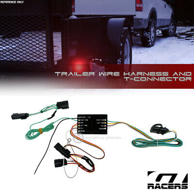 For 2013-2016 Ford Escape Trailer Hitch 4-Way Output Wire Harness T-Connector - Escape Trailer Hitch