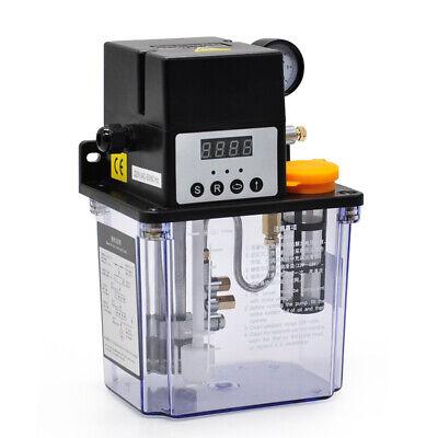 Automatic 2l Digital Display Oiler Pump Lubrication Pump 220v Lubricating Oil Us