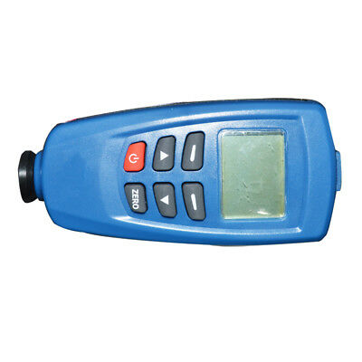 Digital Paint Coating Thickness Tester Meter Gauge Magnetic Induction