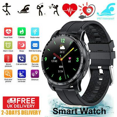 For HUAWEI iOS Smart Watch Sport Bracelet Heart Rate Fitness Tracker IP67 UK NEW