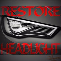 FULLY RESTORE THE LOOK OF YOUR HEADLIGHTS