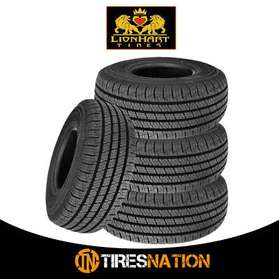 4 New Lionhart Lionclaw HT 22560R17 99H All Season Performance Tires
