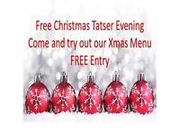 CHRISTMAS TASTER EVENING - FREE