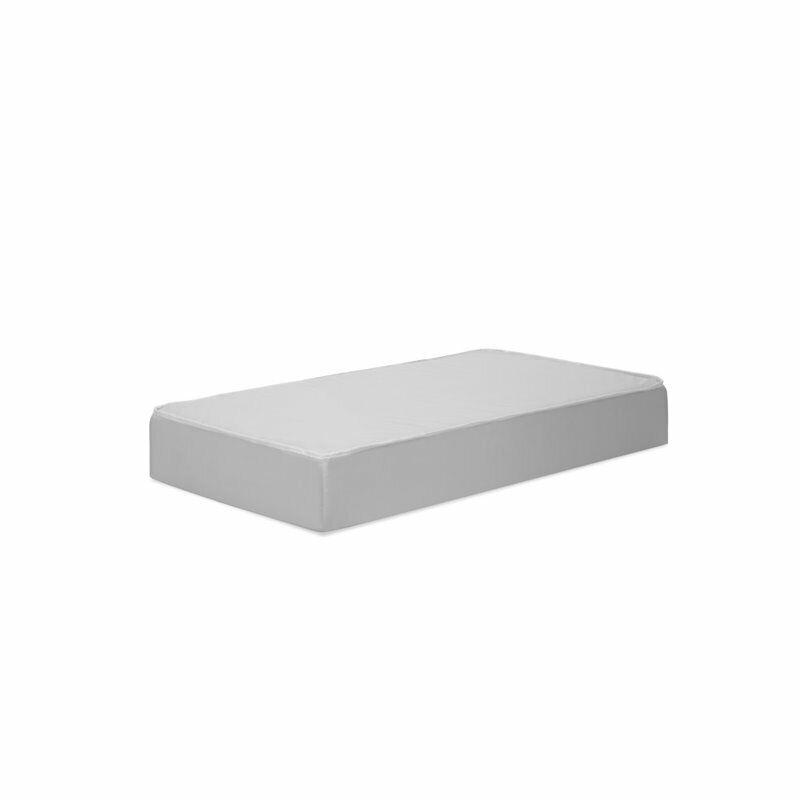DaVinci Deluxe Coil Firm Support Mini Crib Mattress in White