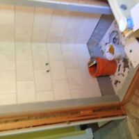 Drywall, stucco removal, tile installations and more