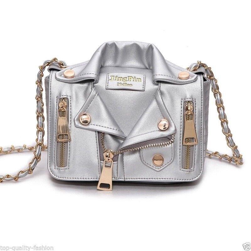 4ba6c10e507 European Hot Design Handbag Jacket Style Women Leather Jacket Bag ...
