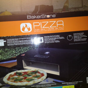 Pizza oven for a bbq