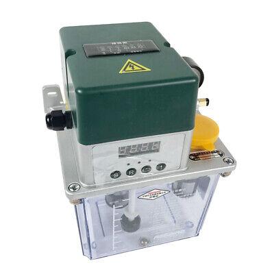 220v 2l Auto Lubrication Pump Cnc Digital Electric Lubrication Pump Oiler Tool