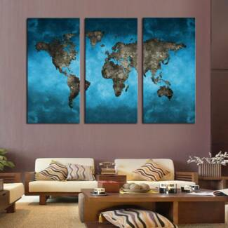 Framed Glossy Canvas Wall Art **50% Off Launch Sale-Canvart.co**
