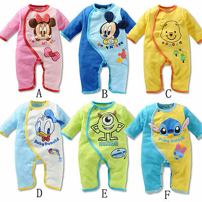 Newborn Baby Boys Girls Animal Bodysuit Outfit Costume ...