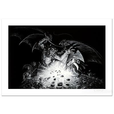 """HILDEBRANDT BROTHERS GANDALF V BALROG"""" LE SN GICLEE ON PAPER 2012"""